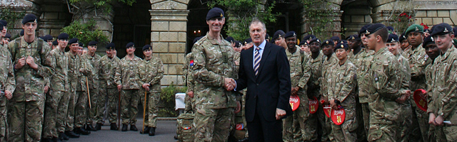 Sir Geoff and 32nd Regiment Royal Artillery