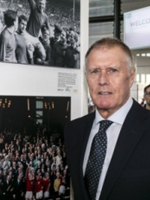 Sir Geoff Hurst at Wembley Stadium